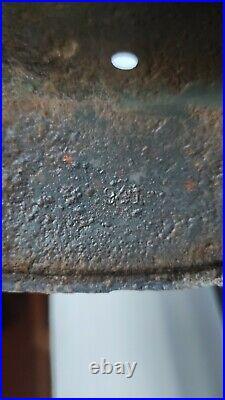 German WW2 Wehrmacht steel helmet Original paint and Decals