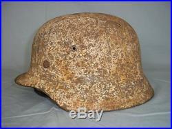 German WW2 Winter Camouflage Helm, Norway