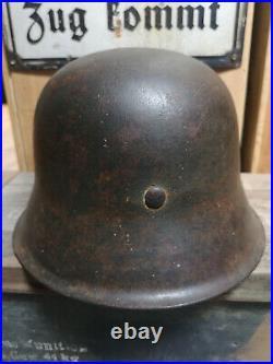 German helmet Ww2 original 1942 2ww 2wk casque allemand