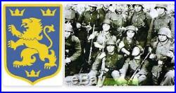 German helmet m35. Division Galicia WW2