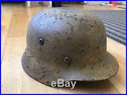 German helmet ww2-Afrika corp