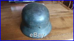 German helmet ww2 original, EF 66, M35
