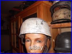 German paratrooper winter helmet ww2 found in east france