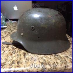 German type Finnish WW 2 Helmet