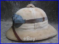 Get 25% OFF read description GERMAN WW2 TROPICAL PITH HELMET Goggles Afrikakorps