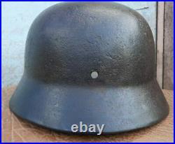 Helmet german original nice helmet M35 size 70 original WW2 WWII have a number