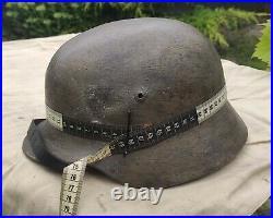 Helmet german original nice helmet M40 size 64 original WW2 WWII