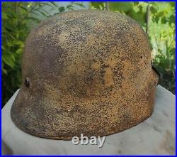 Helmet german original nice helmet M40 size 66 WW2 WWII