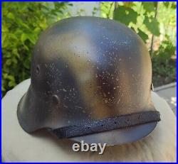 Helmet german original nice helmet M42 size 64 have a number original WW2 WWII