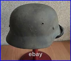 Helmet original nice german helmet M40 size ET66 have a number WW2 WWII