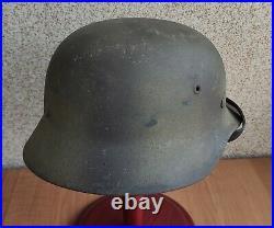 Helmet original nice german helmet M40 size NS64 have a number WW2 WWII