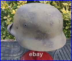 Helmet original nice german helmet M40 size SE66 have a number WW2 WWII