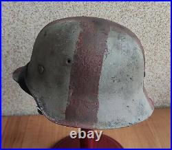 Helmet original nice german helmet M42 size ET62 have a number WW2 WWII medical