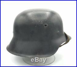 Named Ww2 German Helmet KIA W History Wwii Army M42 Original