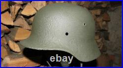 Original-Authentic WW2 WWII Improvisation Lamp Helmet German #5