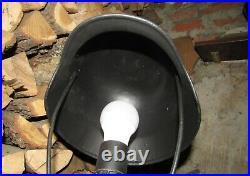 Original-Authentic WW2 WWII Improvisation Lamp Helmet German #6