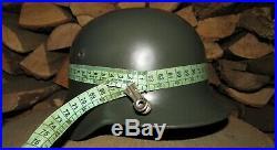 Original-Authentic WW2 WWII Relic German helmet Wehrmacht #206