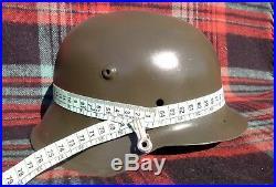 Original-Authentic WW2 WWII Relic German helmet Wehrmacht #22