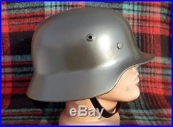 Original-Authentic WW2 WWII Relic German helmet Wehrmacht #77