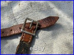 Original GERMAN WWII WW2 COMBAT HELMET CHINSTRAP 1936