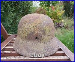 Original German Helmet M40 Relic of Battlefield WW2 World War 2