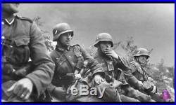 Original German Helmet M40 and other Relics WW2