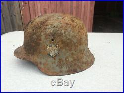 Original German Helmet M42 WW2