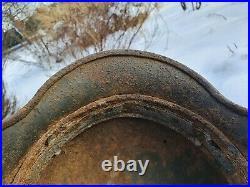 Original German Steel Helmet M40 Stahlhelm Relic of Battlefield WW2 World War 2
