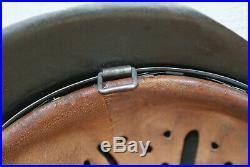 Original German WW2 Combat Helmet M42 hkp68 size 61 liner