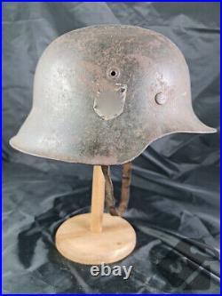 Original German WW2 EF WSS M42 Helmet