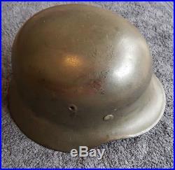 Original German WW2 M40 Combat Helmet (Stahlhelm)