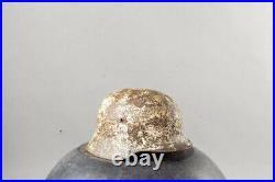 Original German WW2 M40 Winter Russian Front Helmet Size 64
