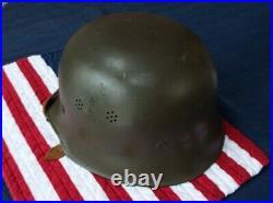 Original German WWII WW2 M34 helmet Complete