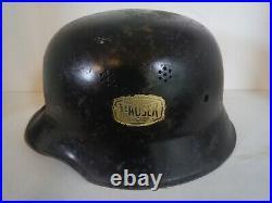 Original German WW 2 Helmet Mauser Werkschutz