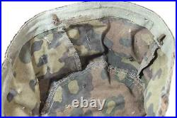 Original German WW 2 Pea Dot Camouflage Cover for Paratrooper Helmet