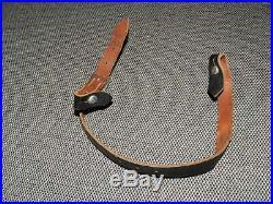 Original WW2 German Helmet Chinstrap Marked dcb 42