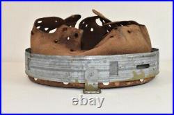 Original WW2 German Helmet Liner Steel/Zinc Mid War M40 M42 Dated 1940 64/57