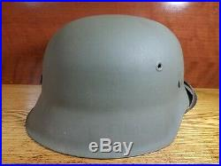 Original WW2 German Helmet M42 qvl 66