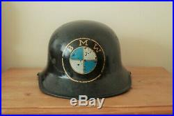 Original WW2 German Helmet With Liner BMW