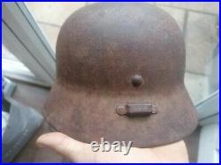 Original WW2 German / Hungarian army helmet m35/ 38