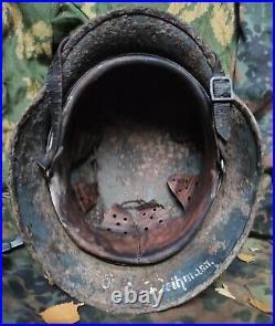 Original WW2 German Military Helmet M35 Stahlhelm WW2