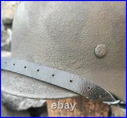 Original WW2 German Military Helmet M40 Stahlhelm WW2