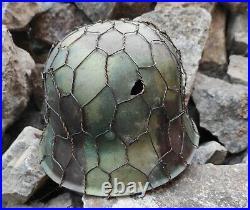 Original WW2 German Military Helmet M42 Stahlhelm WW2