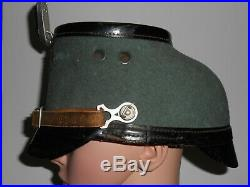 Original WW2 German Police Shako Helmet