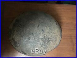 Original WW2 German Red Cross Helmet
