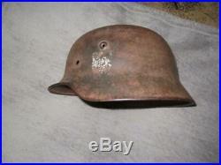 Original WW2 German army Wehrmacht military steel helmet