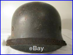 Original WW2 M42 German Luftwaffe Helmet