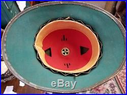 Original WW2 WWII 1942 German Tropical Pith Helmet Hat A. P. G
