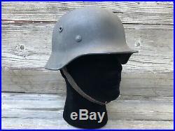 Original WW2/WWII German Luftwaffe M40 Helmet- NICE