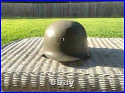 Original WWII German Helmet- M-42 WW2 NO RESERVE